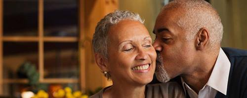 adult african american couple