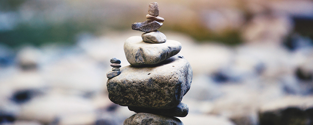 Stack of Balanced Rocks