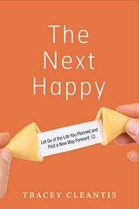 Book Cover, The Next Happy by Tracey Cleantis