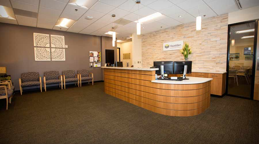 Hazelden in Beaverton Reception Area