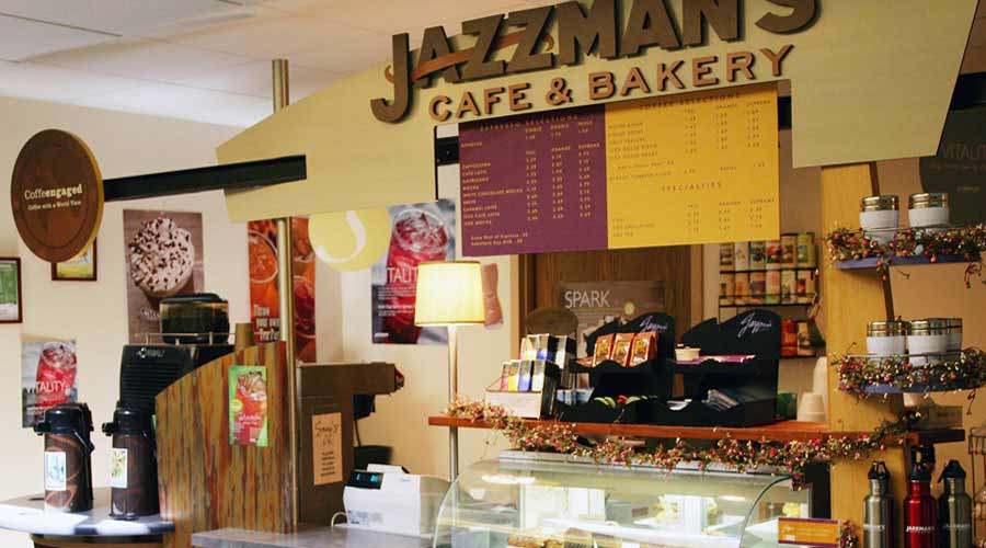 Jazzman's Coffee Shop on Hazelden's Center City campus
