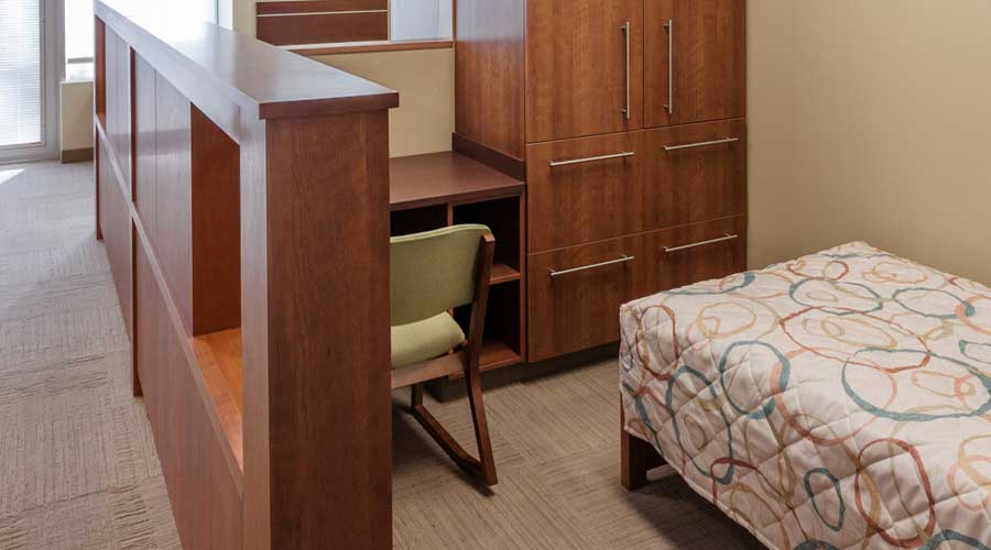 Patient Room at Hazelden in Plymouth