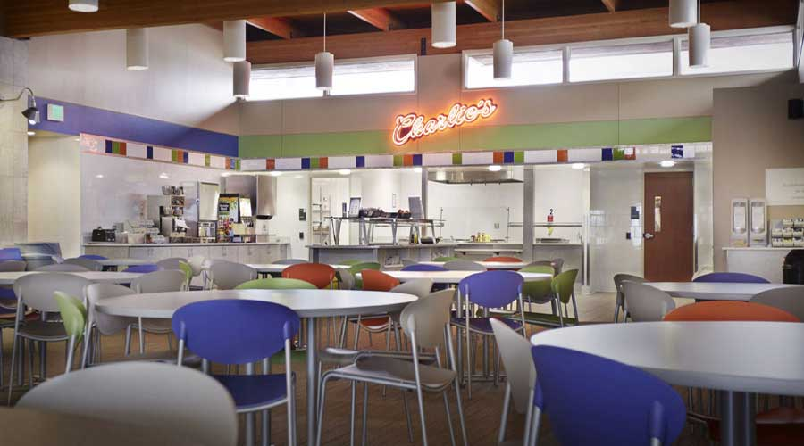 Cafeteria at Hazelden in Plymouth