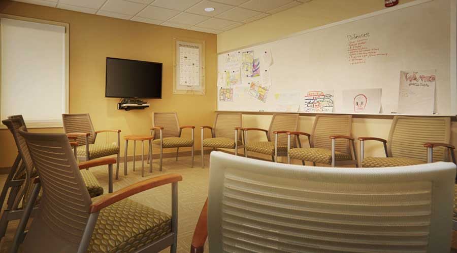 Group Meeting Room at Hazelden in Plymouth