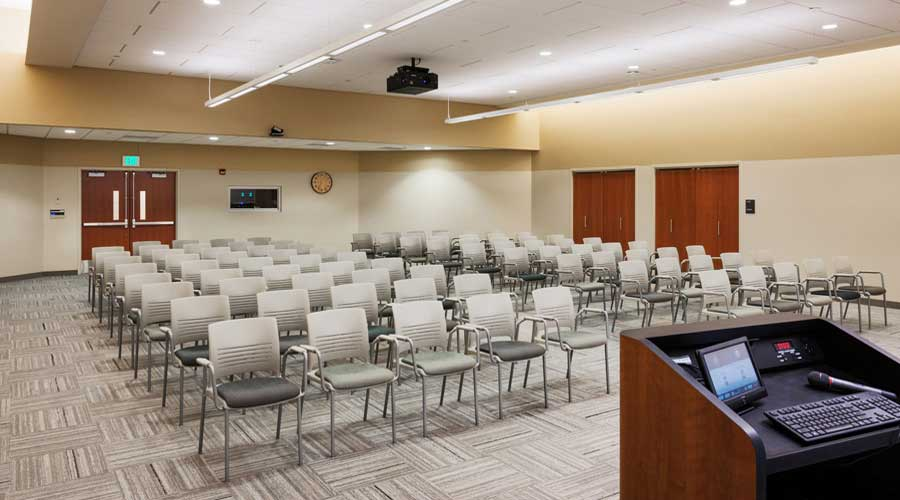 Lecture Hall at Hazelden in Plymouth