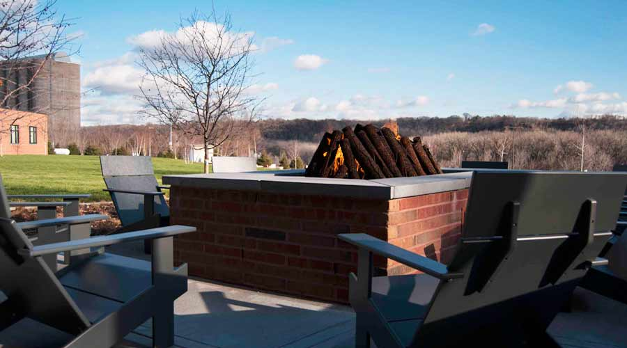 St. Paul outdoor firepit