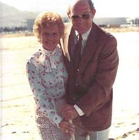 Joe Cruse and Betty Ford at groundbreaking