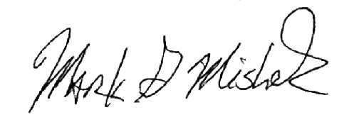 Mark Mishek signature